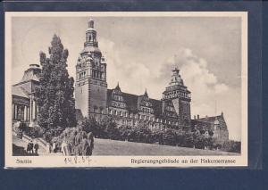 AK Stettin Regierungsgebäude an der Hakenterrasse 1937
