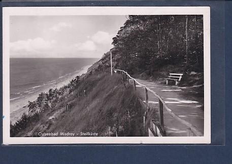 AK Ostseebad Misdroy - Steilküste 1940