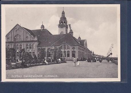 AK Seebad Swinemünde Kurhaus 1930