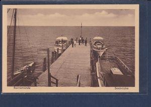 AK Swinemünde Seebrücke 1930