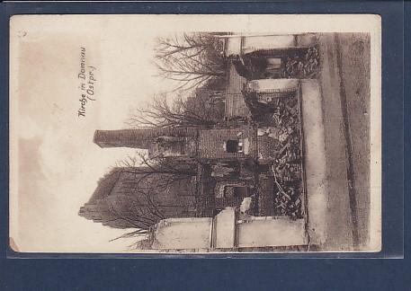 AK Kirche in Domnau ( Ostpr.) 1921