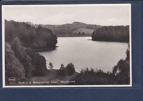 AK Gruß v.d. Masurischen Seen - Niedersee 1940