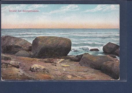AK Strand bei Georgenwalde 1920