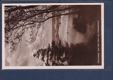 AK Palmnicken Aus dem Park zum Ostseestrand 1936