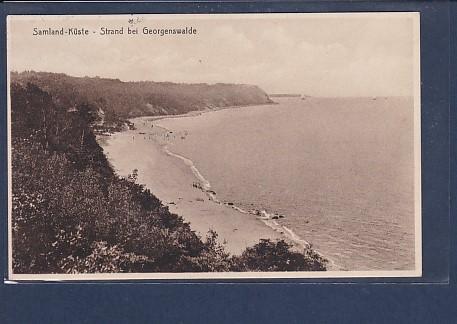 AK Samland-Küste - Strand bei Georgenswalde 1929