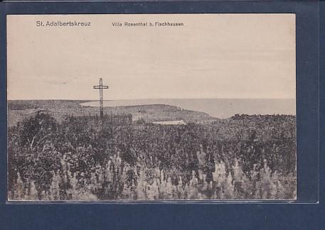 AK St.Adalbertskreuz Villa Rosenthal b. Fischhausen 1915