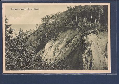 AK Georgenswalde - Blaue Rinne 1911