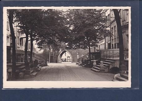 AK Danzig Brotbänkentor 1930