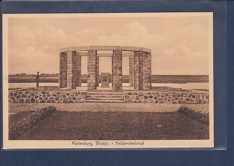 AK Marienburg Westpr. - Heldendenkmal 1930