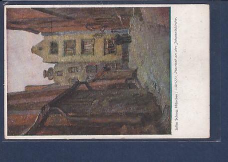 AK Danzig Pfarrhof an der Johanniskirche 1930