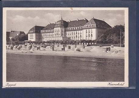 AK Zoppot Kasinohotel 1944