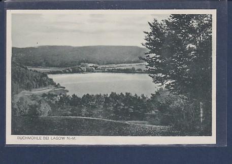 AK Buchmühle bei Lagow N.-M. 1929