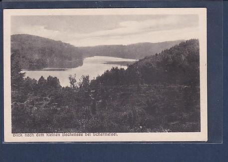 AK Blick nach dem kleinen Bechensee bei Schermeisel 1925