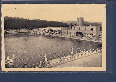 AK Marienbad Strandbad 1944