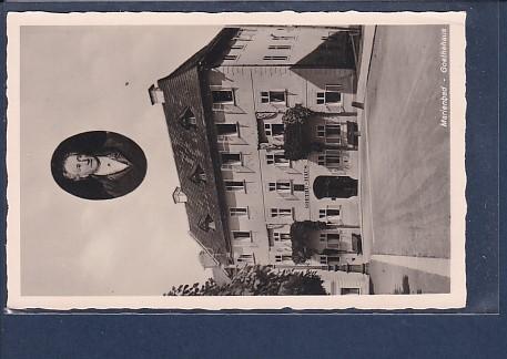 AK marienbad - Goethehaus 1940