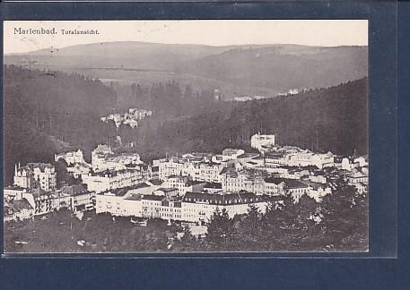 AK Marienbad Totalansicht 1933