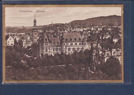 AK Reichenberg Museum 1928
