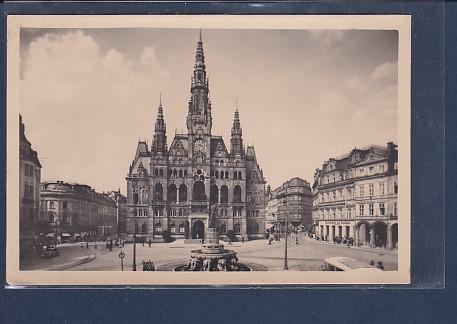 AK Reichenberg Sudetenland Adolf Hitler Platz 1943