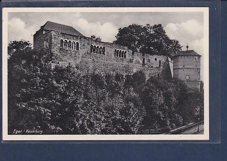 AK Eger - Kaiserburg 1939