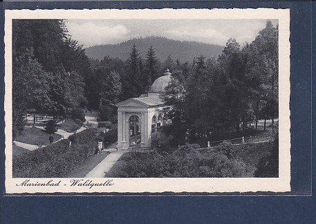 AK Marienbad - Waldquelle 1930