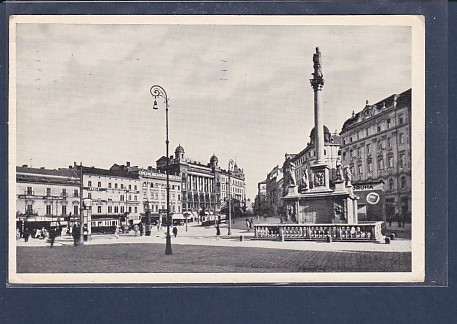 AK Brünn Freiheitsplatz 1934