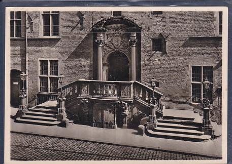 AK Danzig Rathaus Südportal 1940