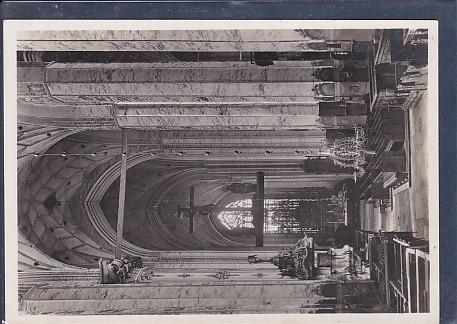 AK Die Marienkirche in Danzig Mittelschiff nach dem Altar 1940
