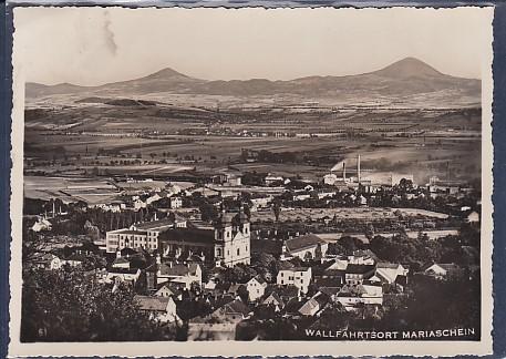 AK Wallfahrtsort Mariaschein 1939