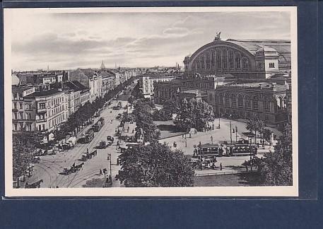 AK Berlin Königgrätzerstr. und Anhalter Bahnhof 1920
