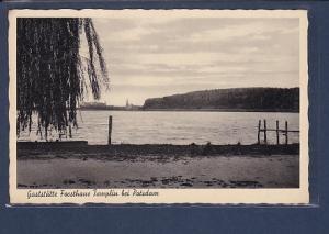 AK Gaststätte Forsthaus Templin bei Potsdam 1938