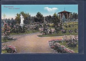 AK Sangerhausen Partie im Rosarium 1920