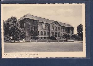 AK Holzminden an der Weser - Baugewerkschule 1959