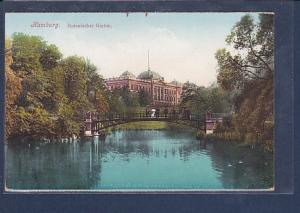 AK Hamburg Botanischer Garten 1920