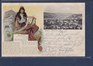AK Hann. Münden - Weserlied 1905