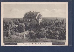 AK Kinderheim der Stadt Hannover 1930