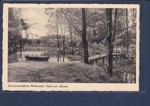 AK Naturfreundeheim Mellendorf, Partie am Lönssee 1940