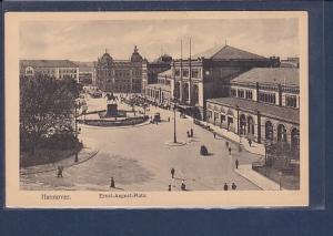 AK Hannover Ernst August Platz 1930