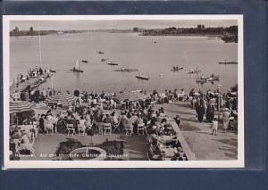 AK Hannover Auf den Maschsee Gaststätte Terrassen 1950