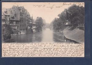 AK Hannover Partie an der Leine 1901