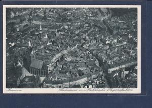 AK Hannover Stadtinneres m. Marktkirche Fliegeraufnahme 1933