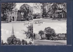 AK Gruß aus Baerl 4.Ansichten 1960