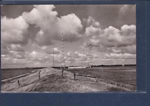 AK Norddeich Seedeich mit Funkstation 1963