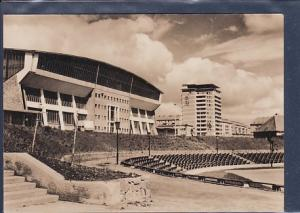 AK Schwerin Kongreßhalle mit Hochhaus 1965