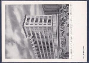 AK Geschäfts u. Appartementhaus Schloss Burg Düsseldorf 1960