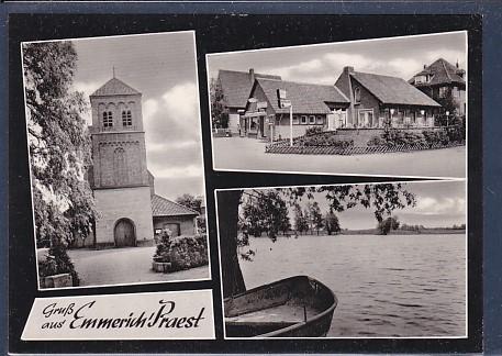 AK Gruß aus Emmerich / Praest 3.Ansichten 1960 0