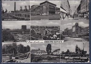 AK Viele Grüße aus Oberhausen 9.Ansichten Gute Hoffnungshütte 1965