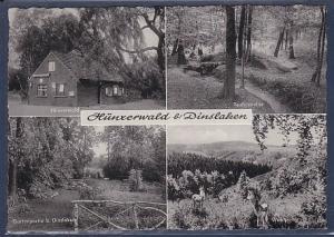 AK Hünxerwald b. Dinslaken 4.Ansichten Hünxerwald 1966