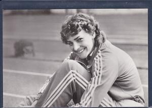 AK Heike Drechsler Daute Siegerin im Weitsprung beim Leichtathletikfest Goldenes Oval 1984