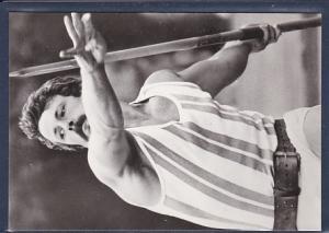 AK Detlef Michel Weltmeister 1983 im Sperrwerfen 1984