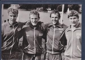 AK Kanu Rennsport / K IV-1000 m Jens Fiedler / Peter Hempel / Rüdiger Helm / Hans Jörg Bliesener 1984
